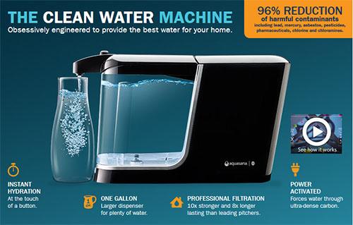 Aquasana filter pitcher